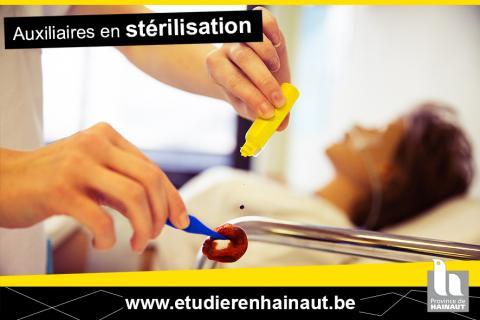 Auxiliaires en stérilisation