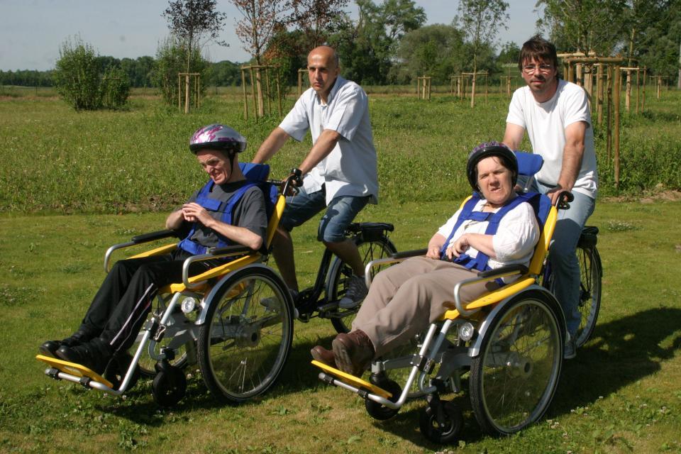 social personne à mobilité réduite